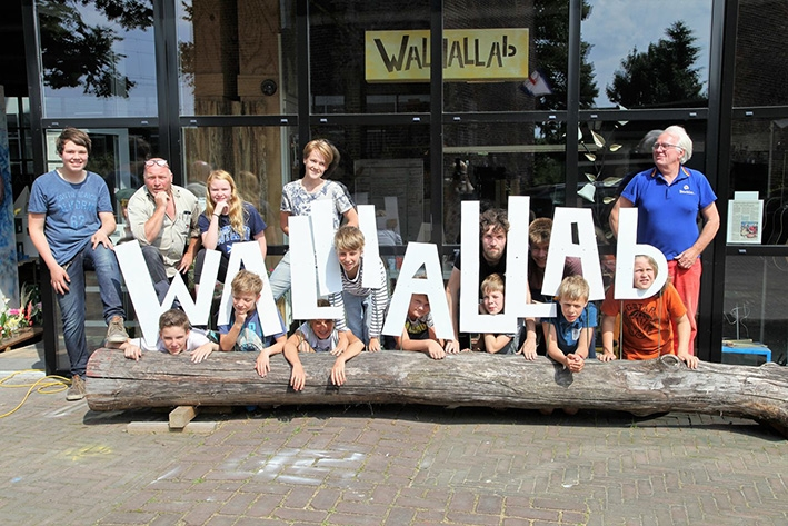 Tijdelijk onderdak voor WALHALLAb