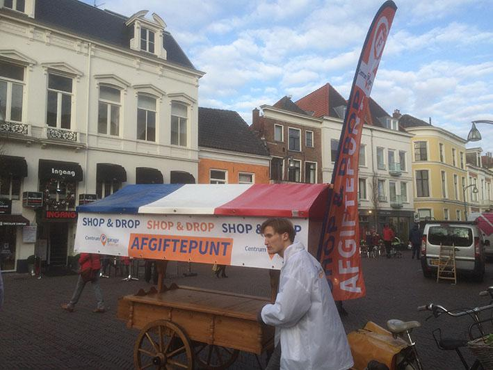 Centrumgarage start met 'Shop & Drop'