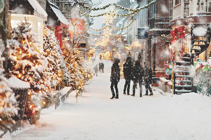 Winterfeest in binnenstad Apeldoorn