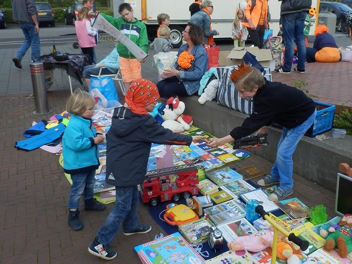 Koninklijke kinderkleedjesmarkt
