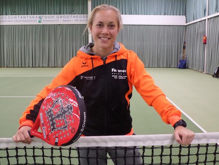 Cynthia Dekker houdt Oranje-eer hoog tijdens EK padel