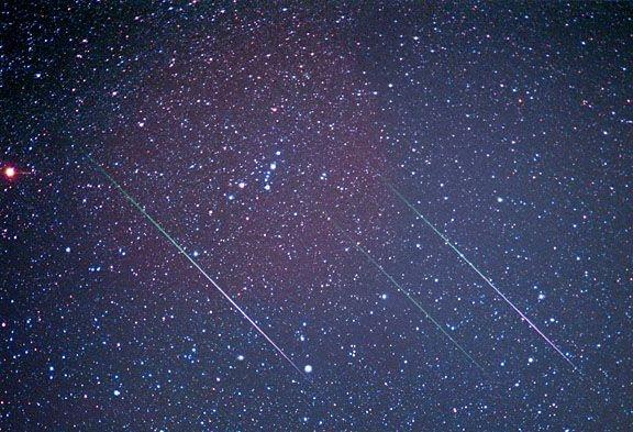 Vallende sterren Perseïden op komst