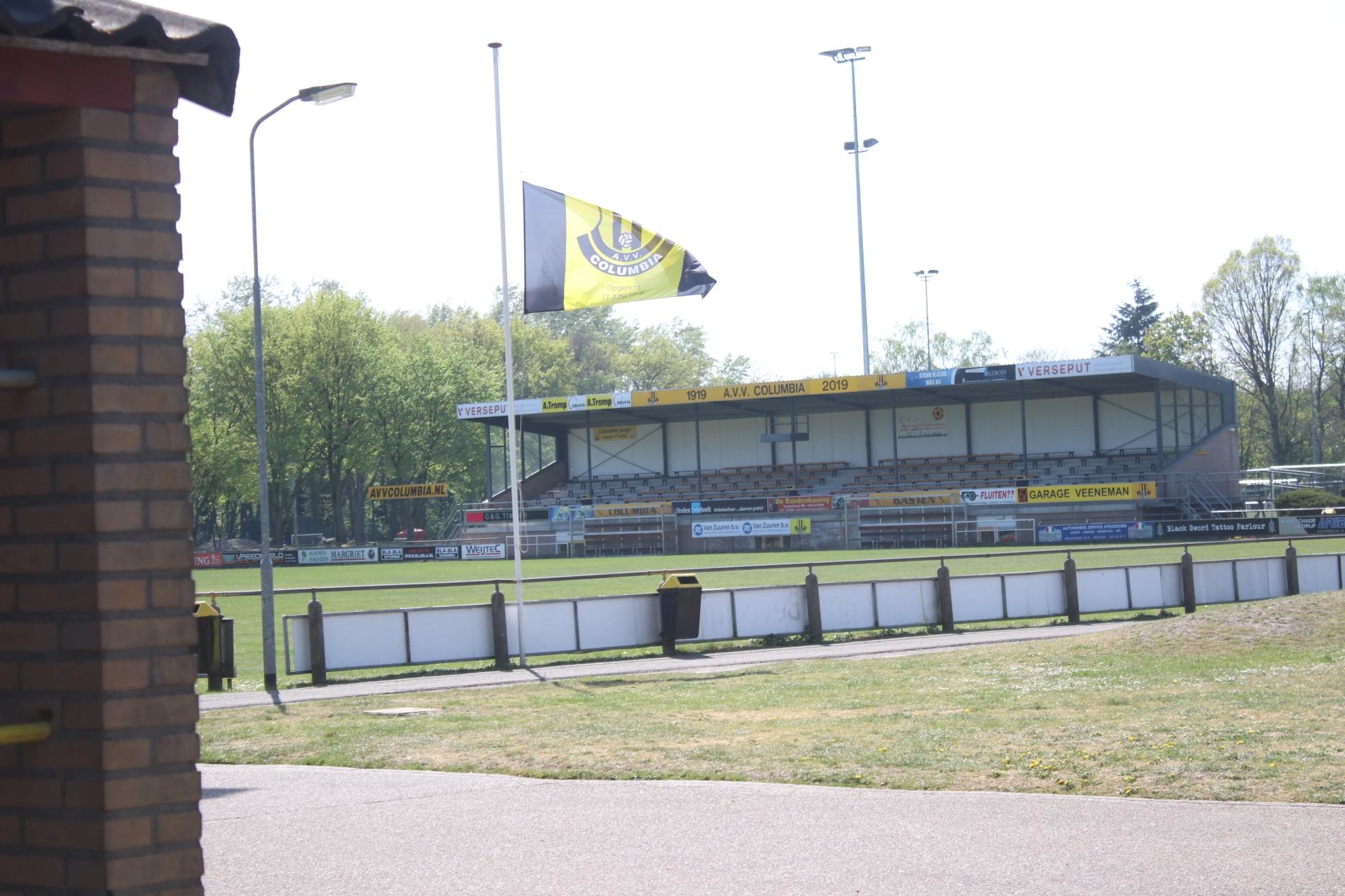 Voetbalvereniging Columbia last wedstrijden af in verband ernstig ongeval op de A1