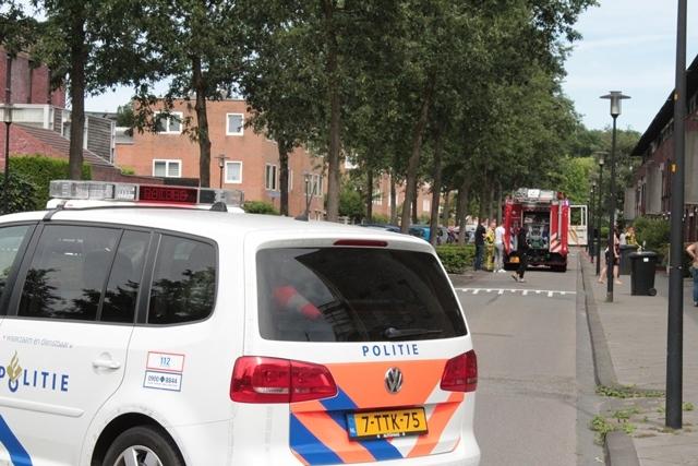 Schuurbrand in de wijk Ossenveld