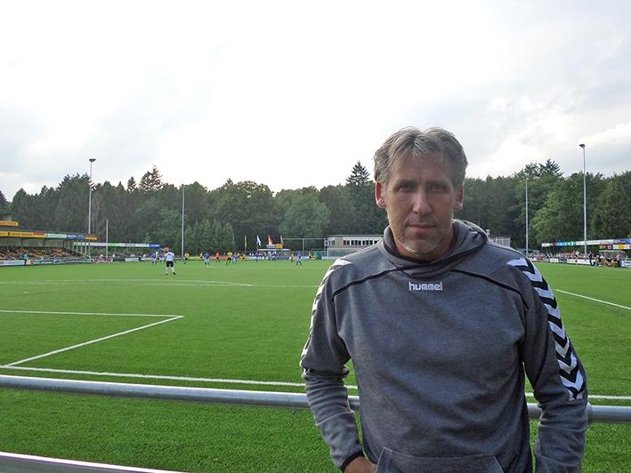 Michel Klomp voelt zich al helemaal thuis in De Vecht