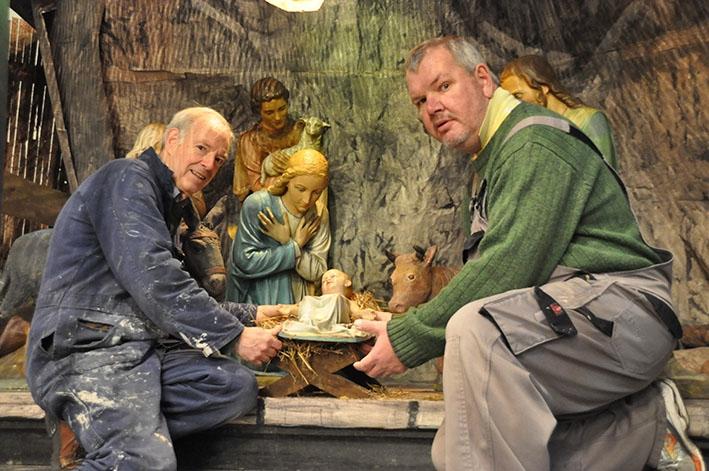 Interactieve kerststal in Broederenkerk