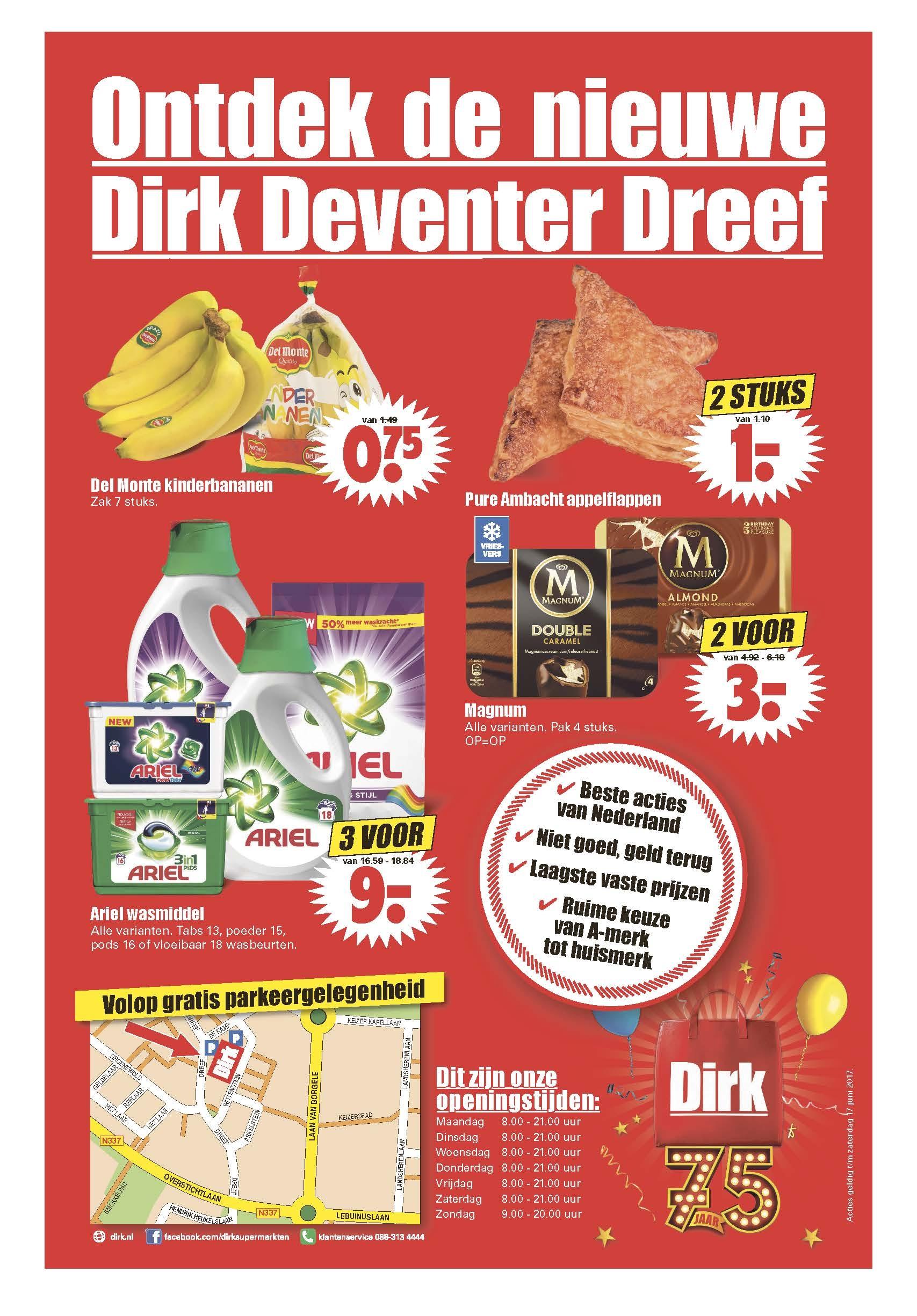 Ontdek de nieuweDirk Deventer Dreef