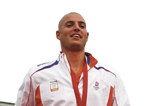 Maarten van der Weijden boegbeeld van Swim to Fight Cancer