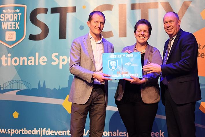 Nationale Sportweek in Deventer