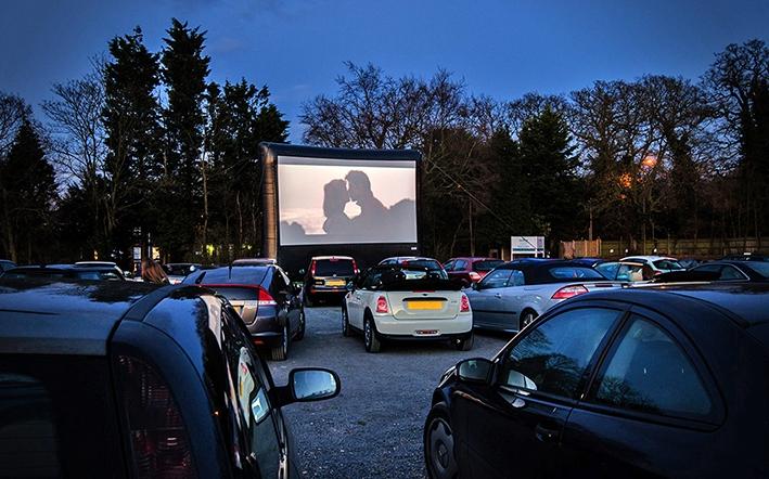 Film kijken vanuit je auto