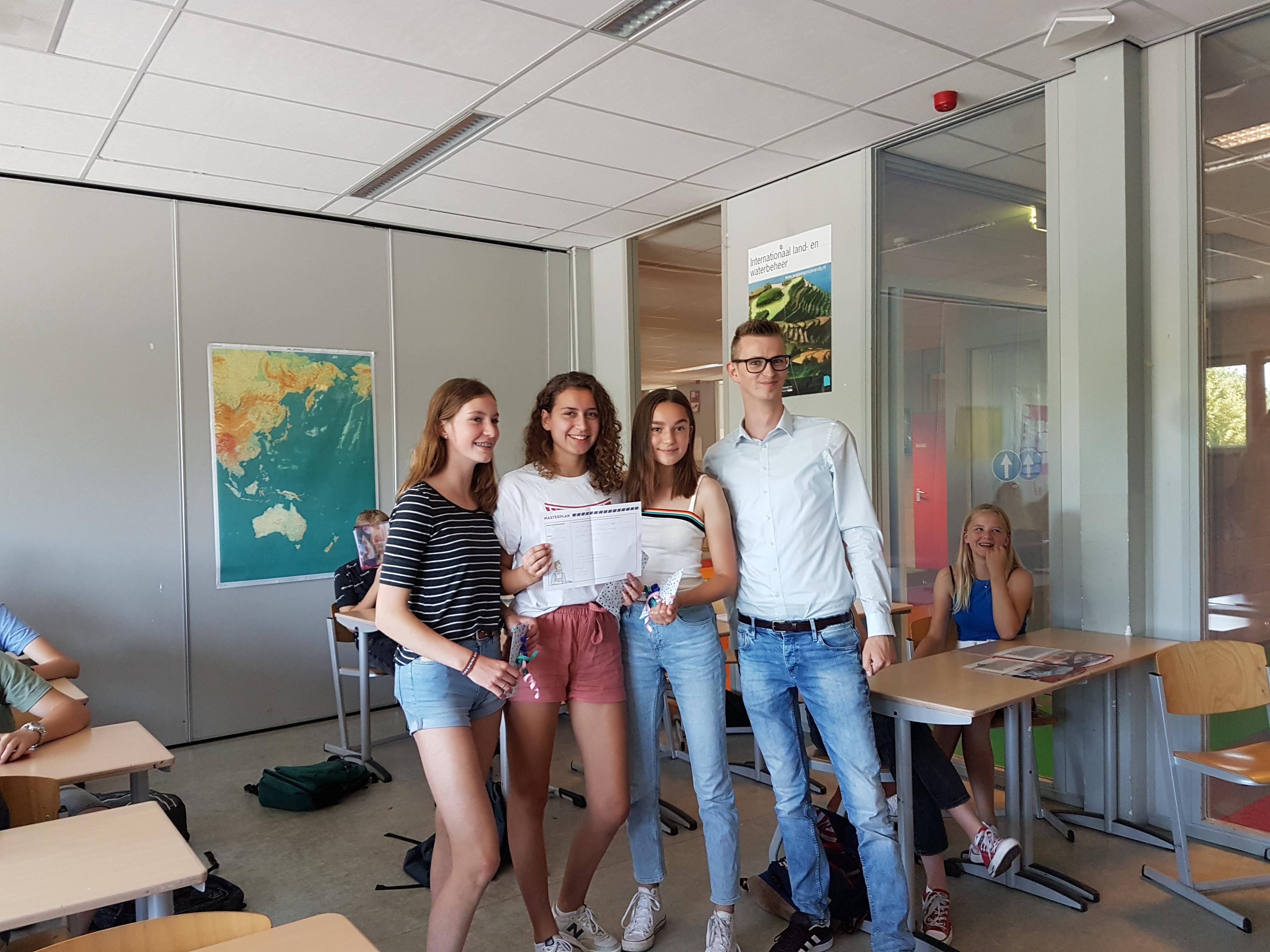 Leerlingen Isendoorn maken beste masterplan Nieuwstadskerk