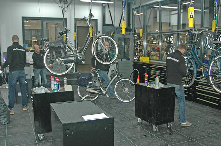 'Elke fiets krijgt hier de plek die hij verdient'