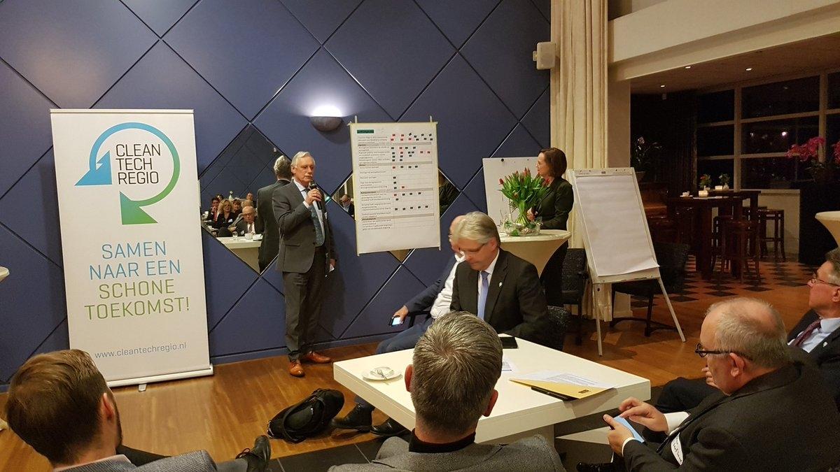Cleantech Regio op weg naar Europese top