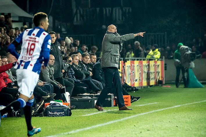 Jurgen Streppel kijkt verder omhoog met Heerenveen