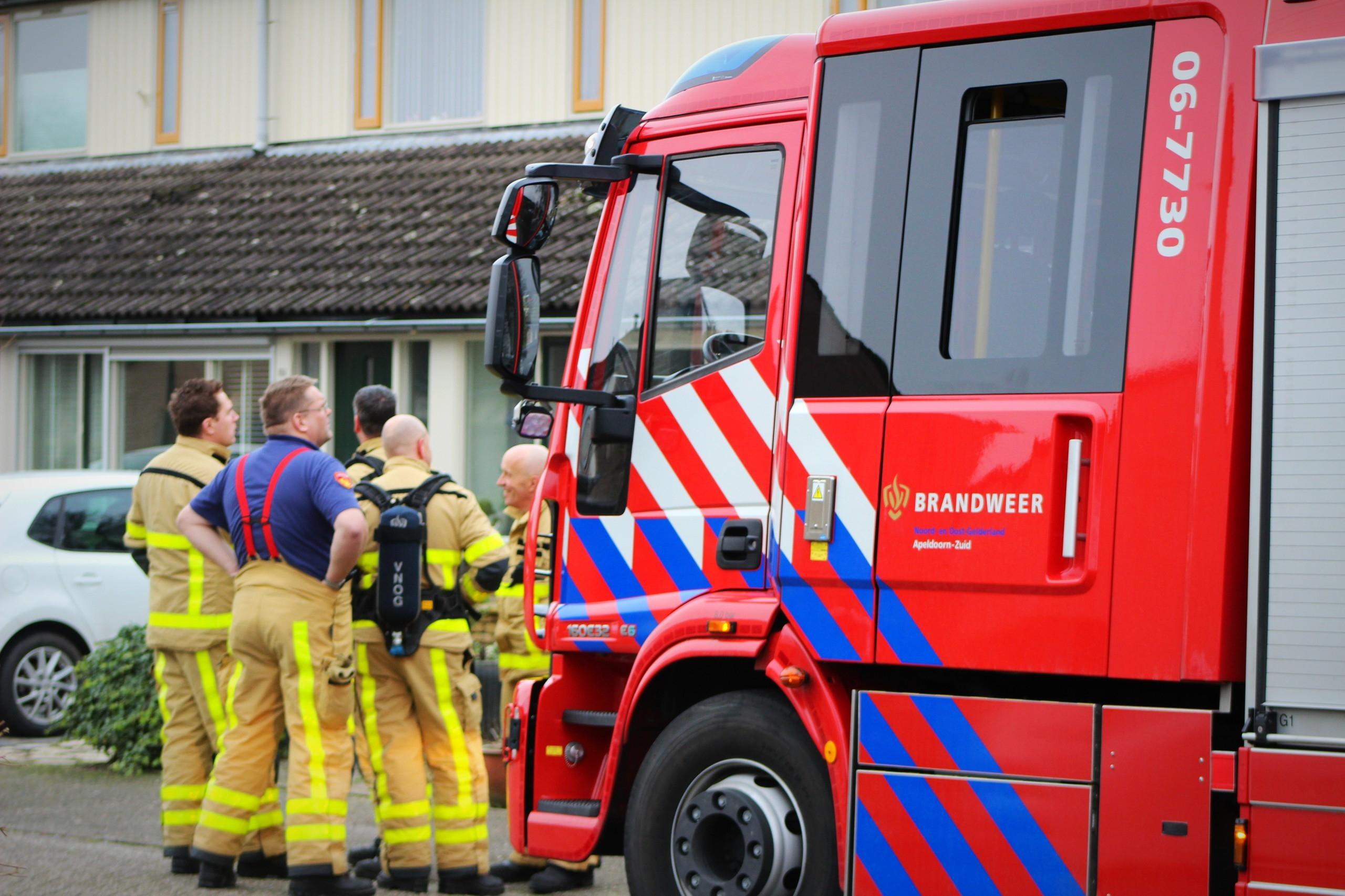 Brandweer is op zoekt naar gaslek