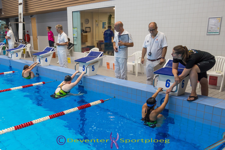 Zwemwedstrijden De Klup