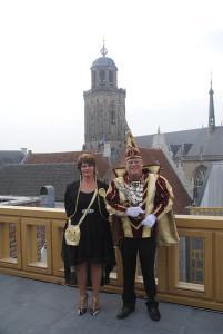 Deventer heeft nieuwe Stadsprins Hanze XX