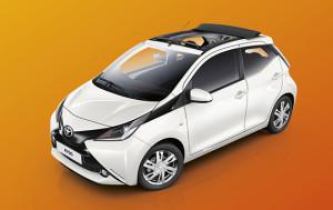 Toyota Wagenmaker stunt met AYGO Cabrio Zomeractie