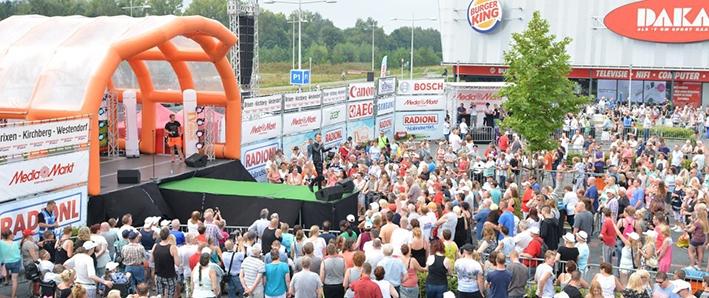 RadioNL Zomertoer komt naar Apeldoorn