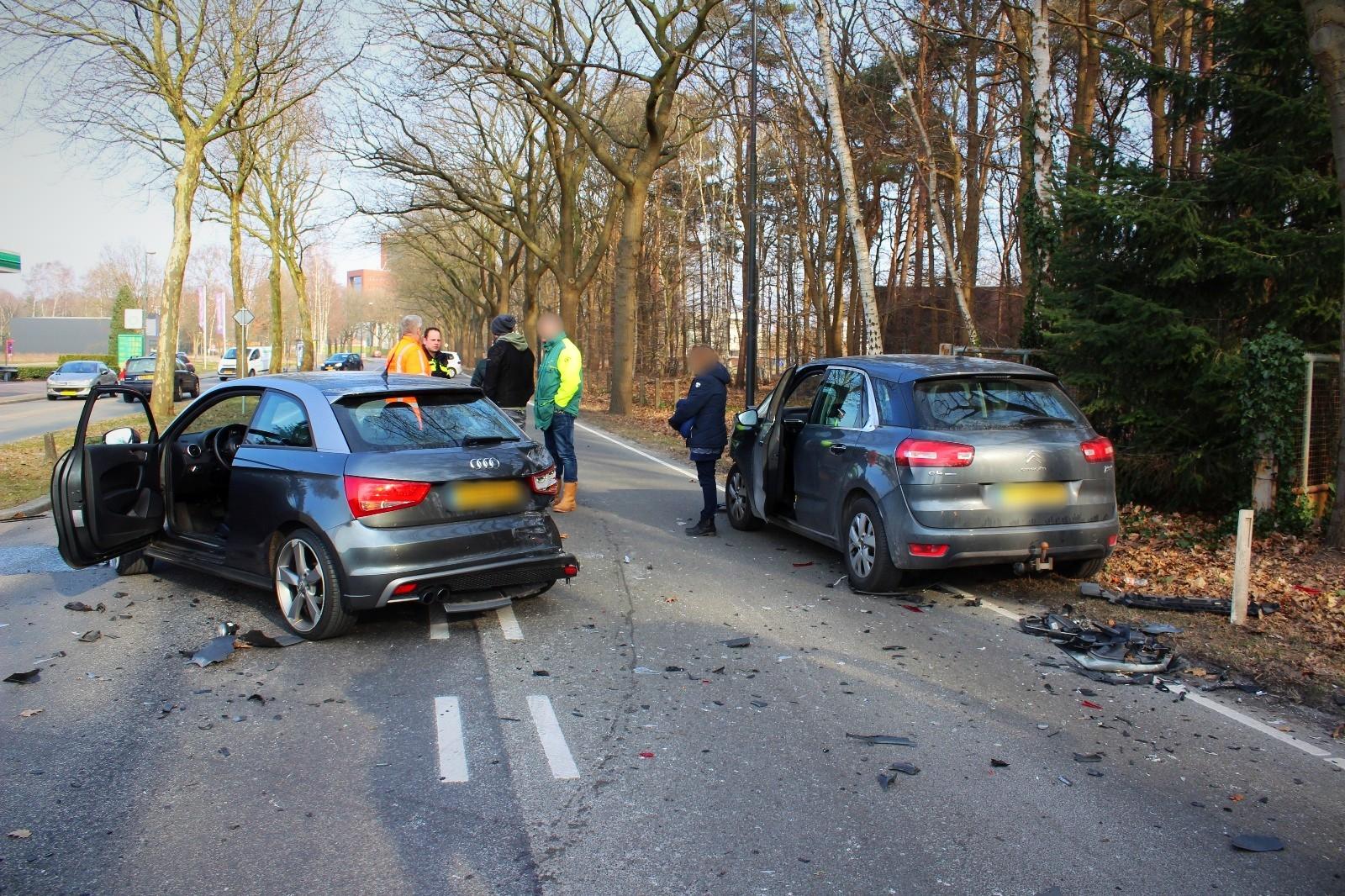 Ongeval op de Europaweg