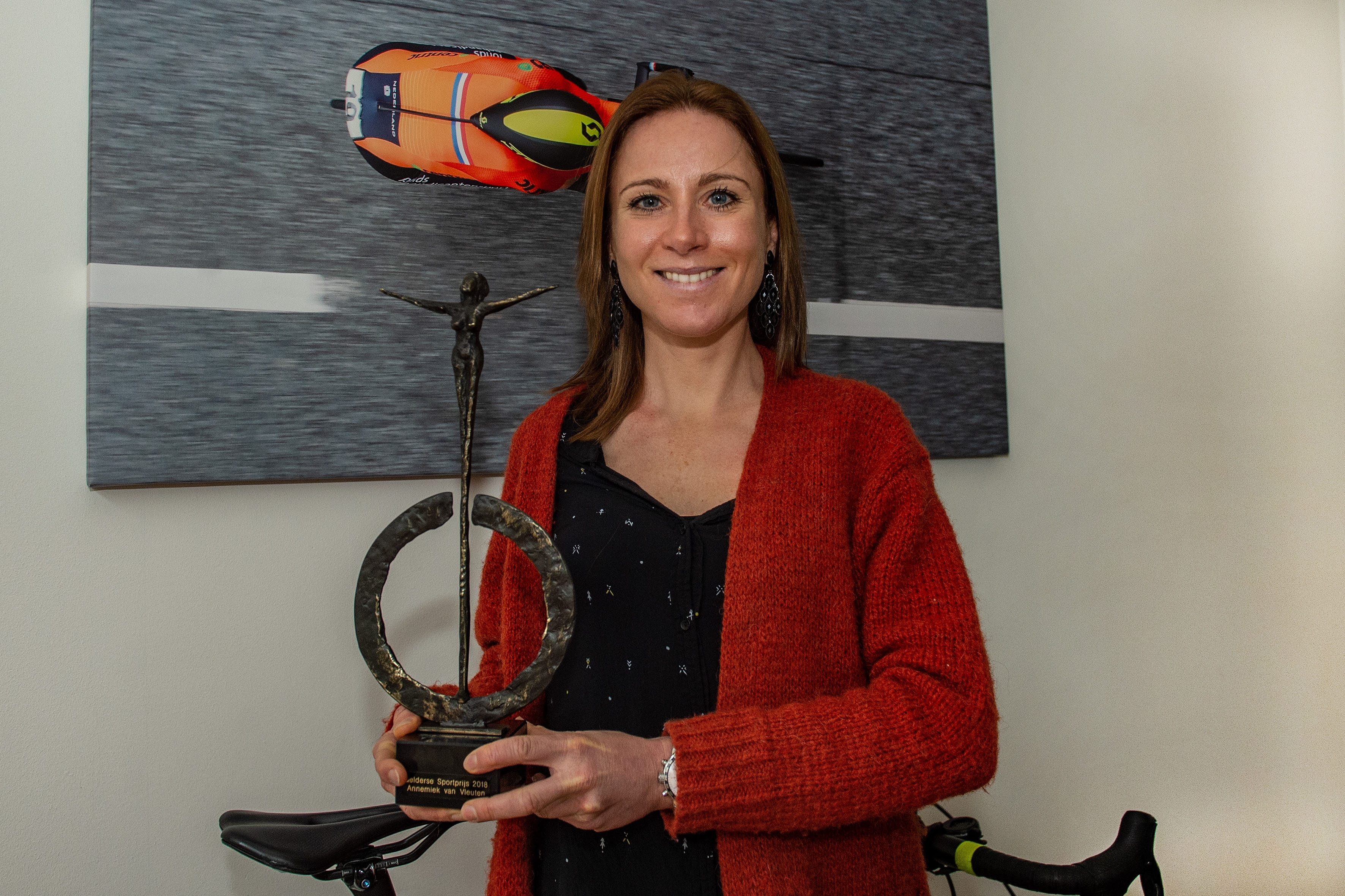Gelderse Sportprijs 2018 voor Annemiek van Vleuten