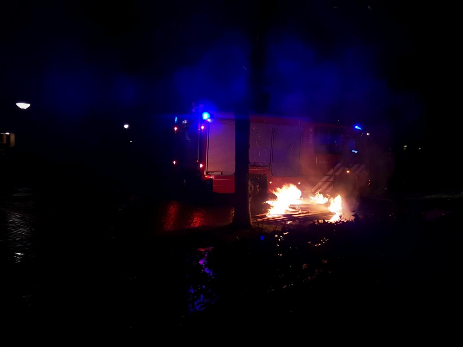 Brandweer rukt 17 keer uit op Oudejaarsdag