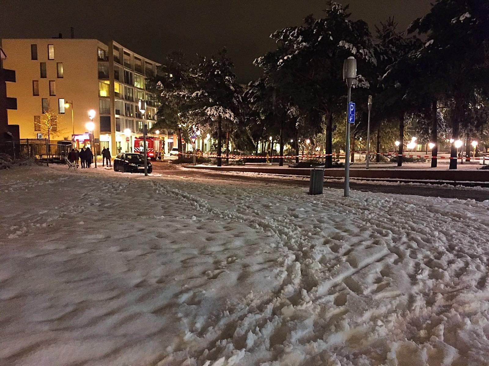 Sneeuw zorgt voor veel gevaarlijke situaties