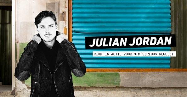Julian Jordan geeft dj-set van 24 uur voor 3FM Serious Request