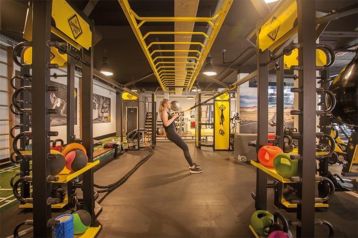 Fitnessclub met lage drempels