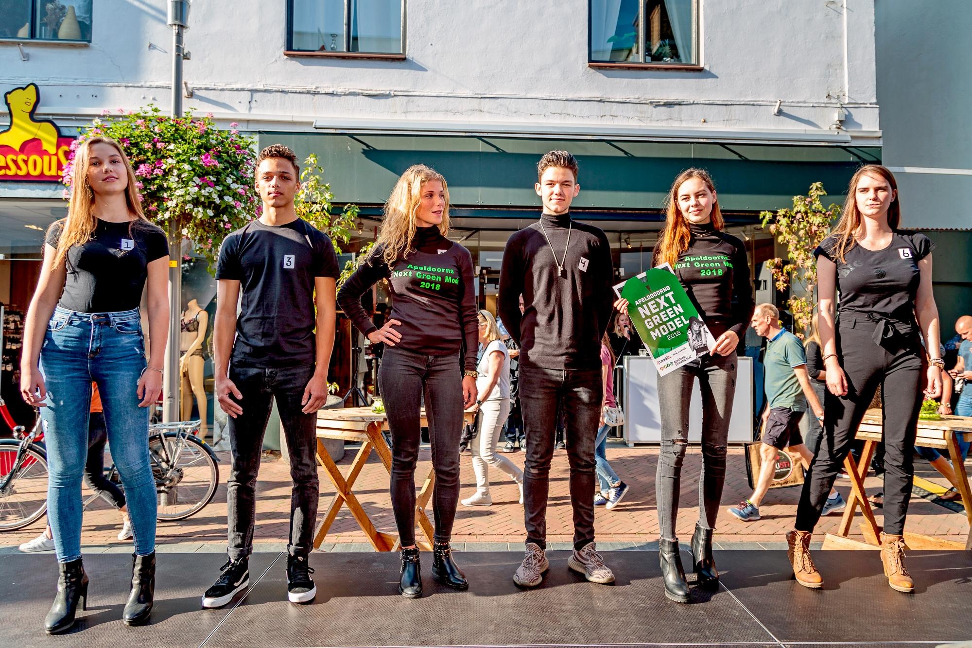 Jalisa en Lana zijn Apeldoorns Next Green Model(s)