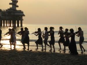 Braziliaanse zomerzon weerklinkt in concert