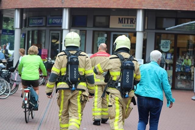 Brandlucht zorgt voor inzet brandweer