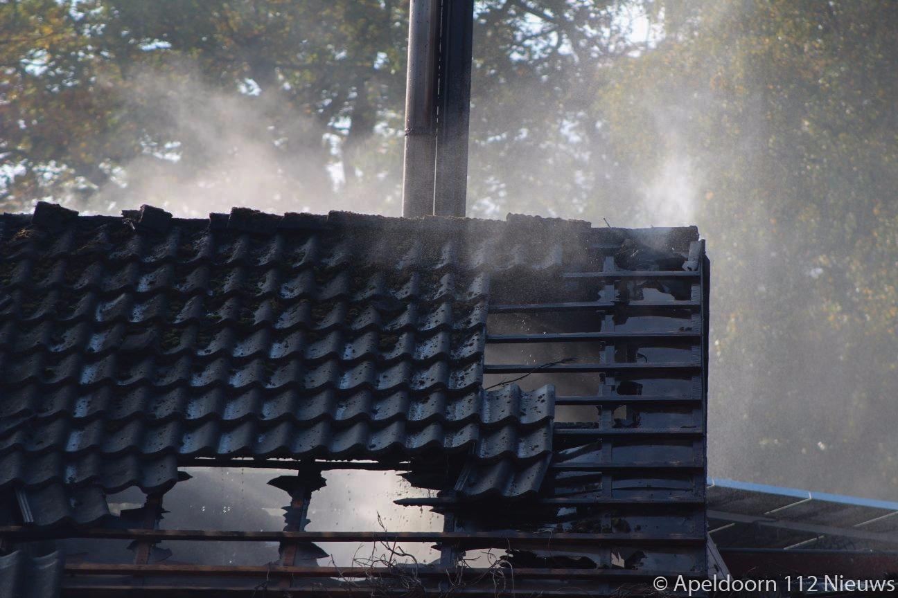Schuurbrand in Klarenbeek