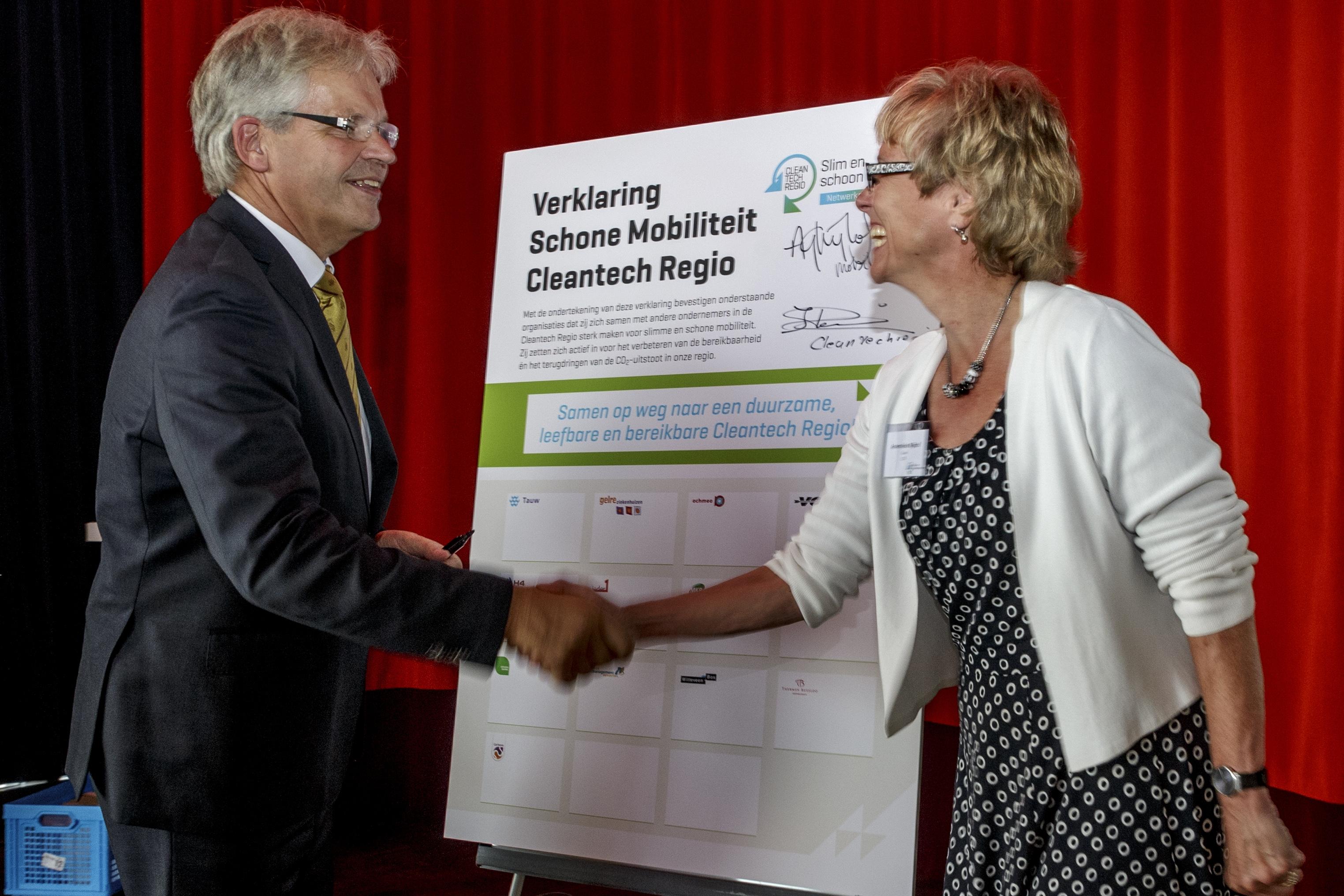 Bedrijven Cleantech Regio gaan voor slimme en schone mobiliteit