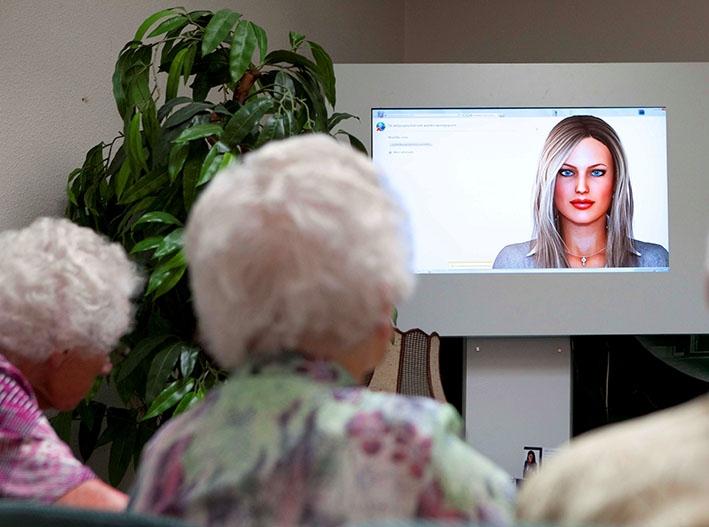 Ondersteuning met virtuele assistent Anne