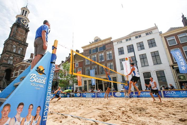 Vier dagen zon en zand in Zutphen