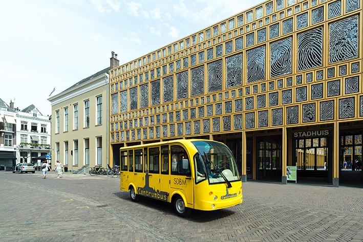 Centrumbus weer in gebruik