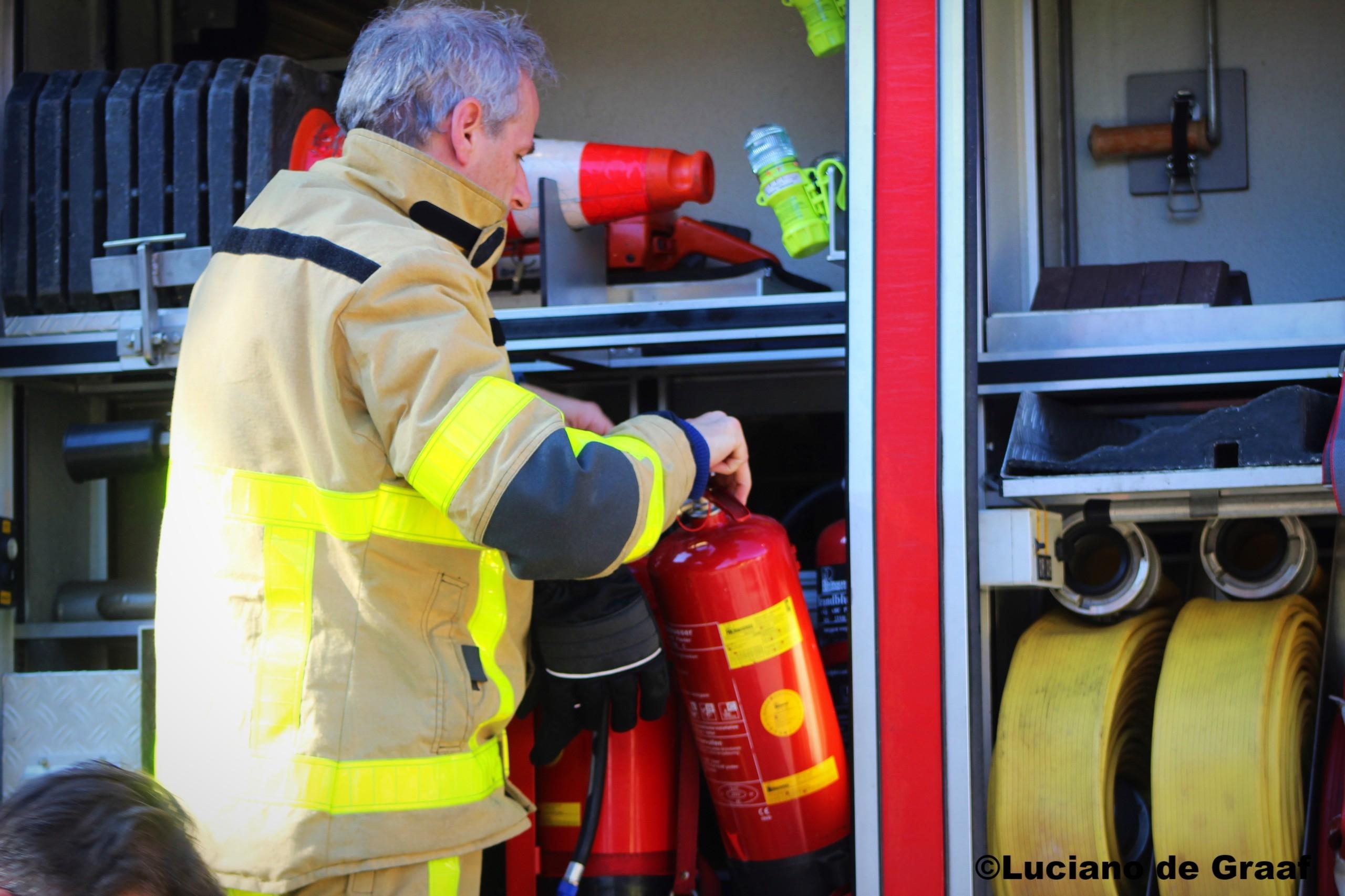 Brand legt streekwinkel in de as