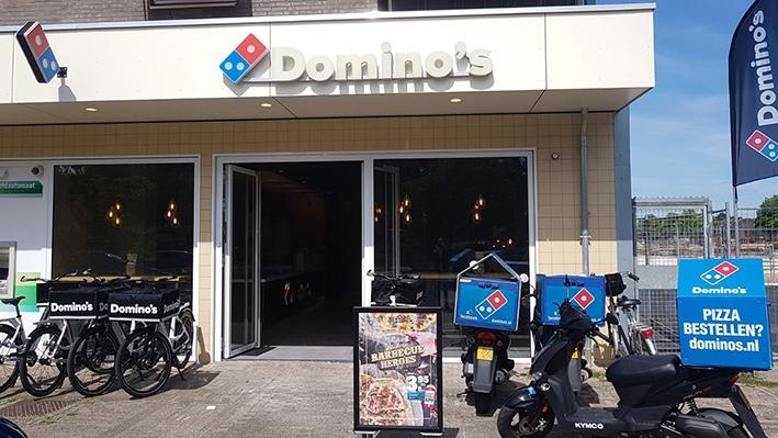 Drie dagen gratis pizza tijdens openingsactie Domino's Apeldoorn