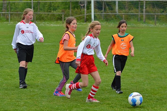 Basisscholen weerhet voetbalveld op