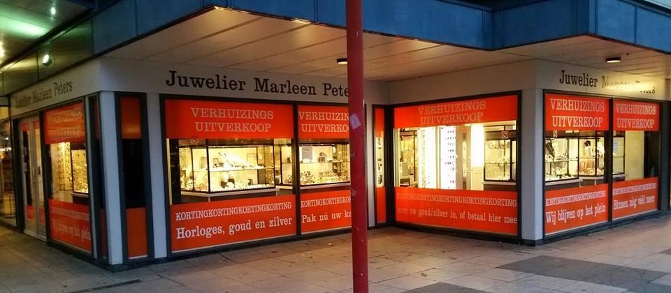 Hoge kortingen bij Juwelier Marleen Peters