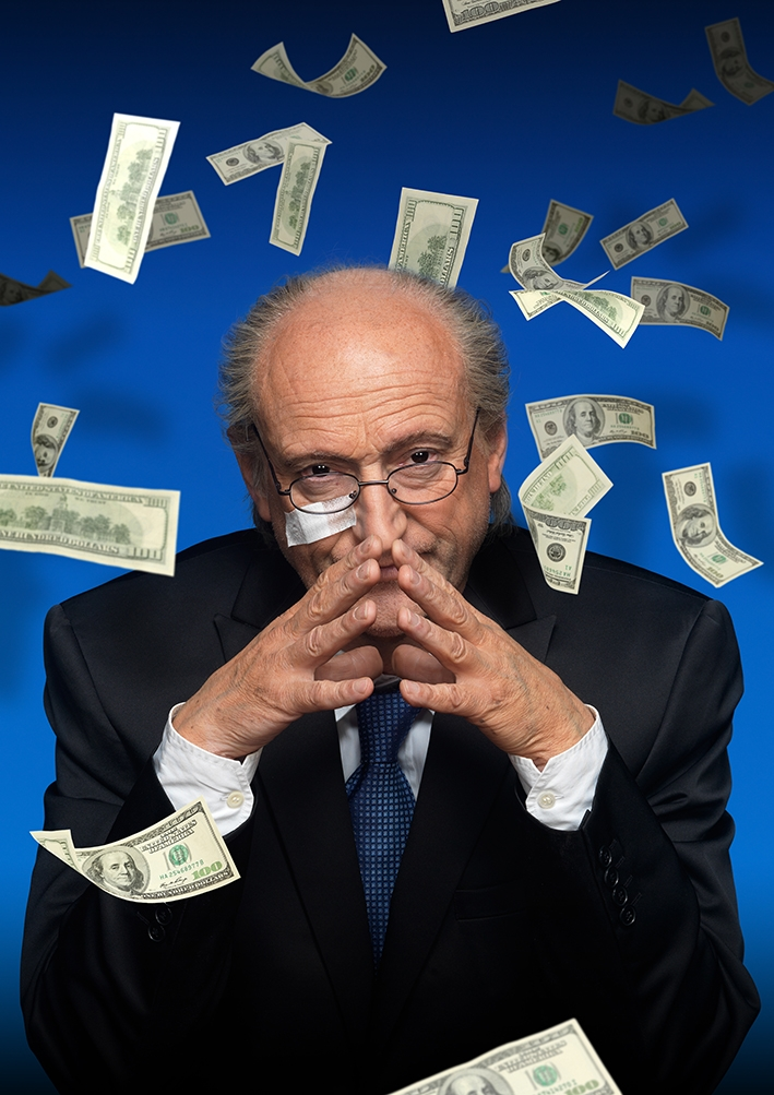 Win vrijkaarten voor FIFA Blatter