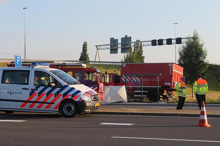 Brandweerwagen betrokken bij dodelijk ongeval