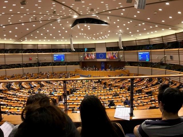 Leerlingen Cortenbosch in gesprek met Europarlementariërs