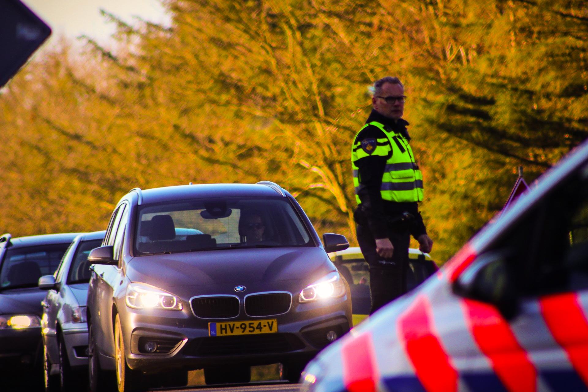 Vertraging door ongeval in Beekbergen