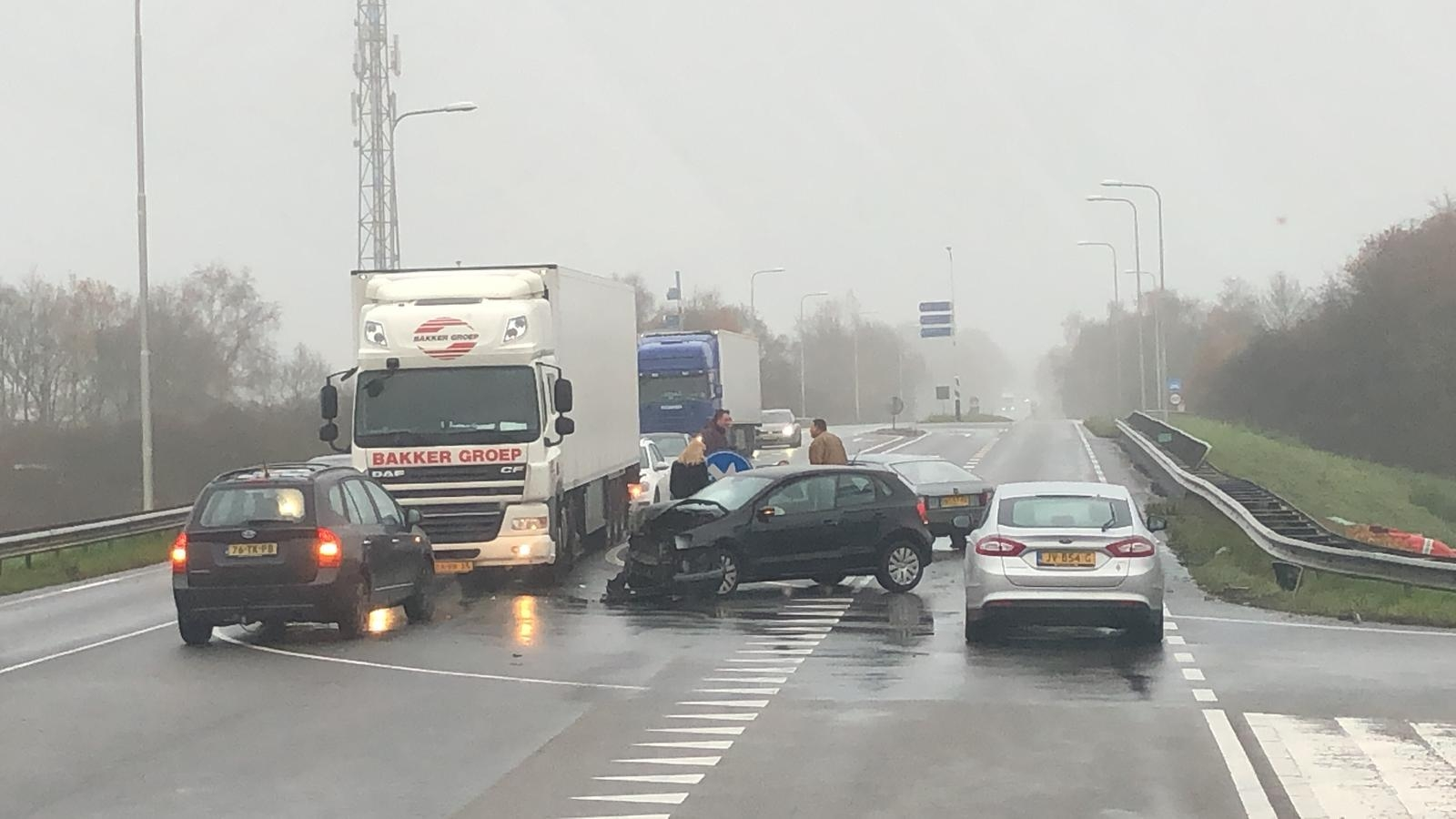 Ongeval afrit A1