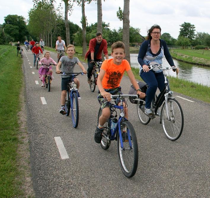 Vier dagen fietsen in en rondom Voorst