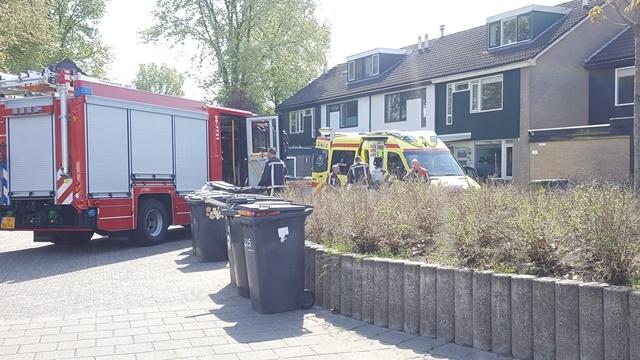 Brandweer helpt de ambulancedienst