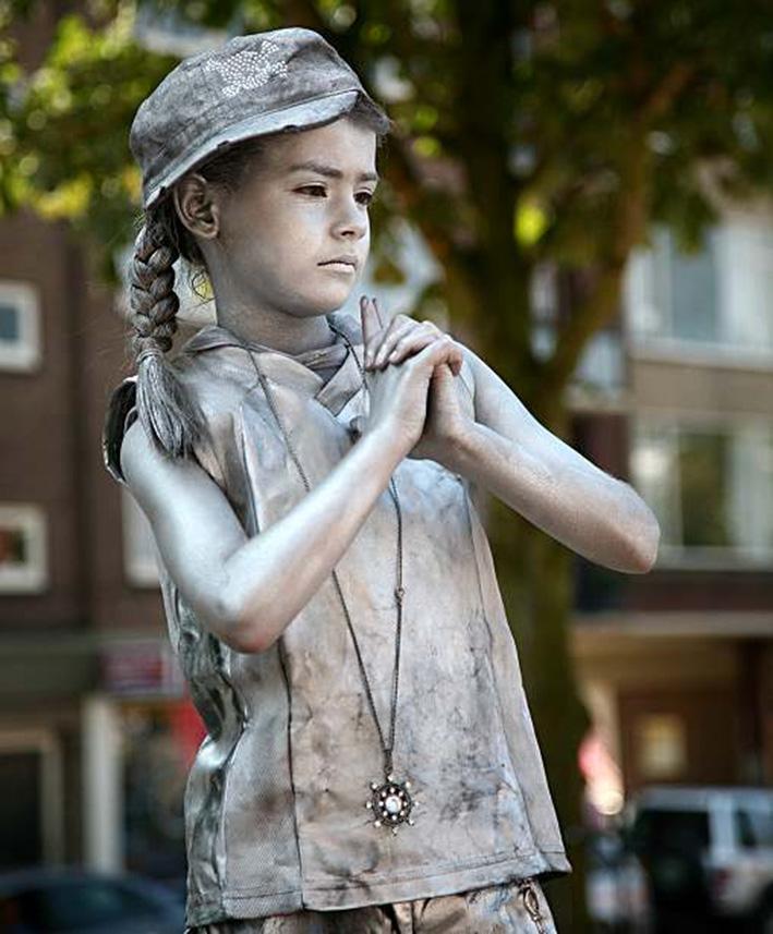 Opgeven mogelijk voor Living Statues