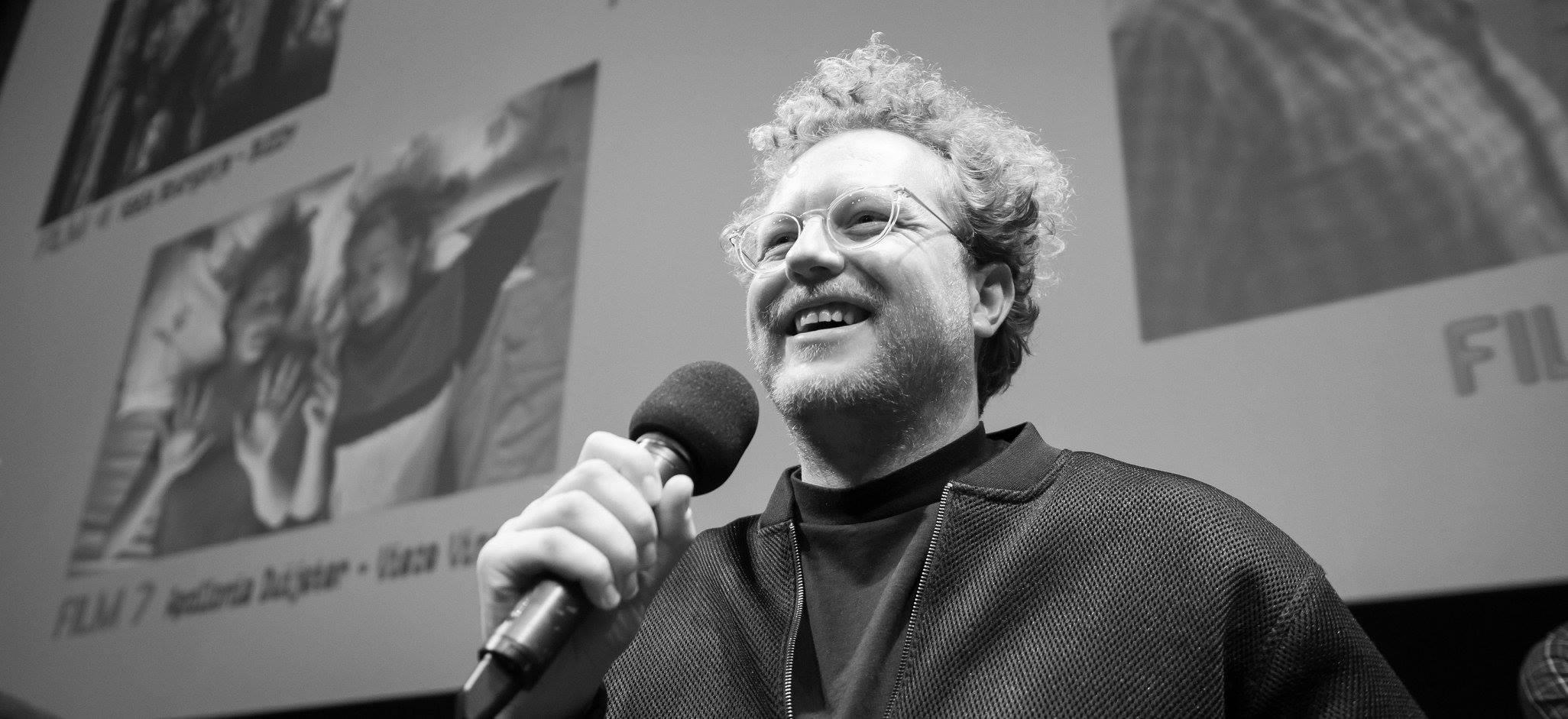 Filmregisseur Ruben Broekhuis in de spotlights